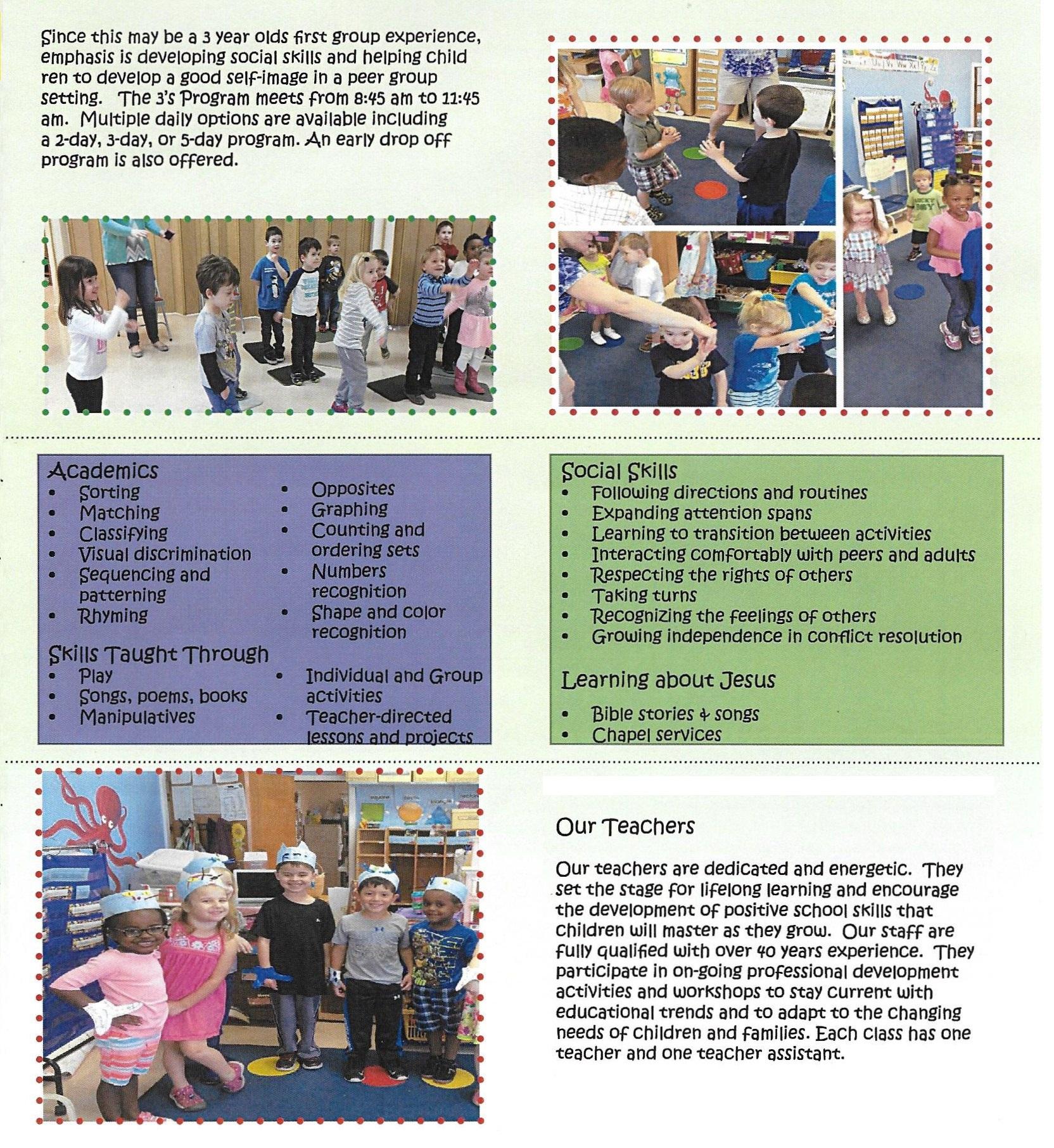 3-Year-Old Program